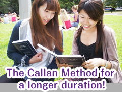 The Callan Method for a longer duration! Student Holiday Package